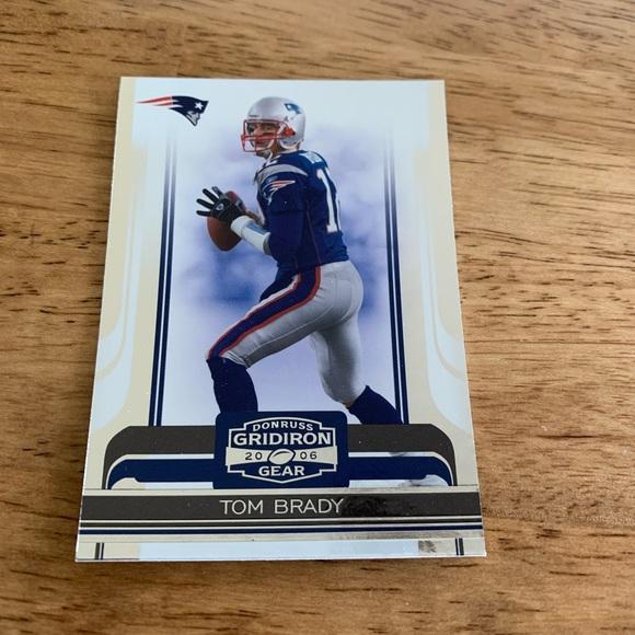 Tom Brady 2006 Donruss Gridiron Gear Card #63
